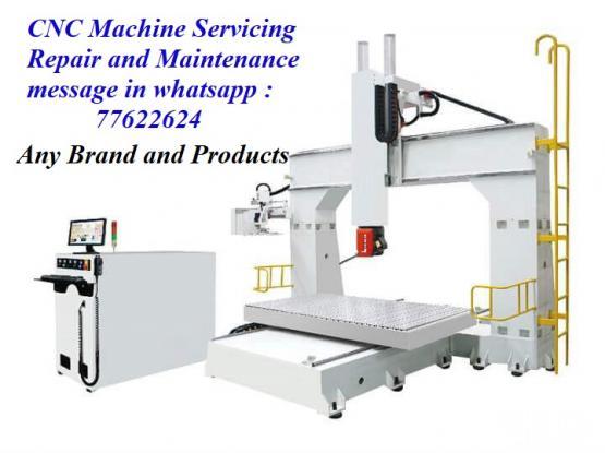 CNC-Machine Servicing
