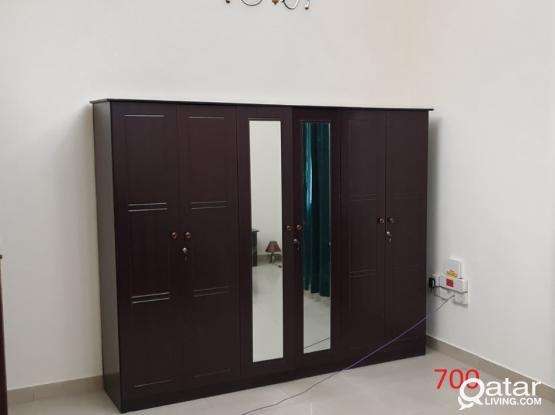 Urgent 6 DOOR Wardrobe Sale QR 700