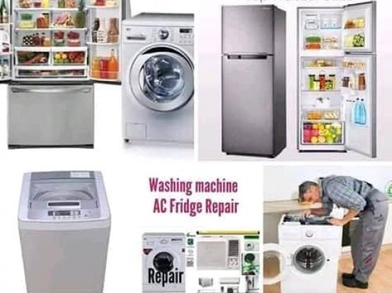 Washing machine, Fridge, AC service repair.Please