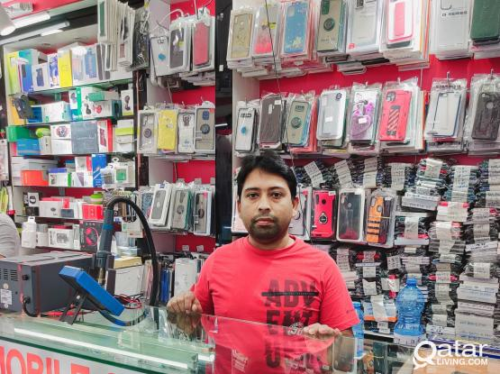 We replace any mobile screen and repair any mobile.