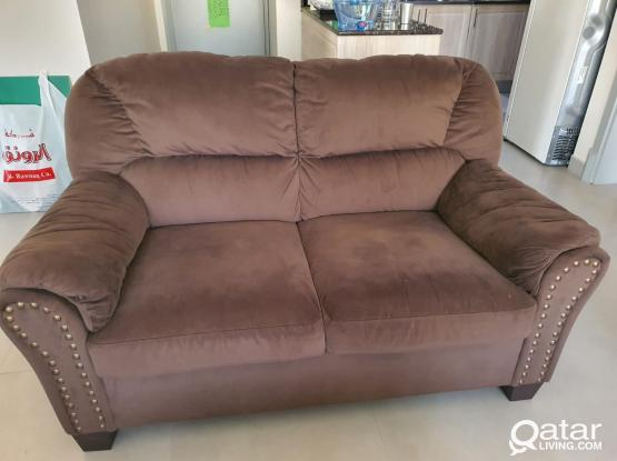 Pan Emirates Leonardo 3+2=5 Seater Sofa with Centre Table