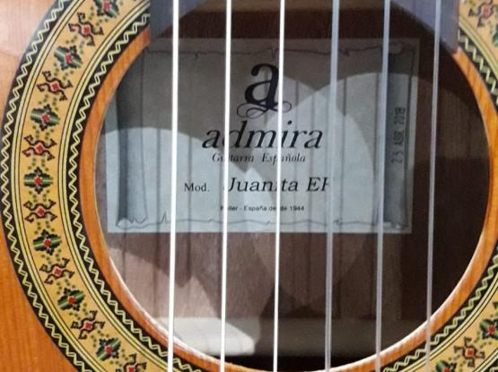 Admira Classical Guitar with Fishman Pick-up