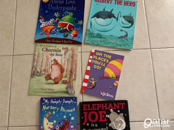 Kids Books, Excellent Condition All For 100