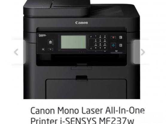 Cannon wireless laser printer/MF237w