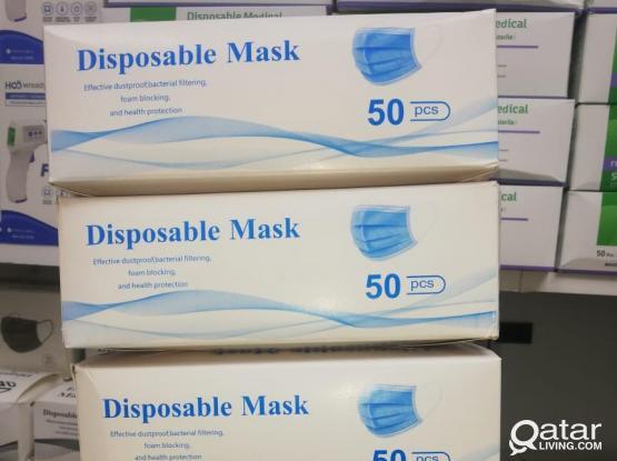 Gloves and Med mask