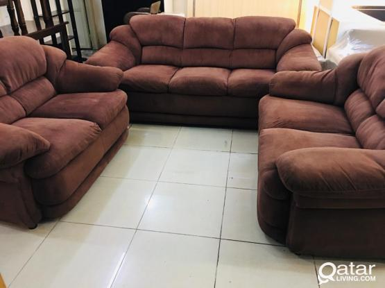 For sell home centre sofa 7 seater 3+2+2