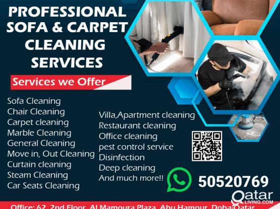 CAll 50520769|SOFA & CARPET CLEANING SERVICES AT VERY LOW PRICE COMPARE TO OTHERS