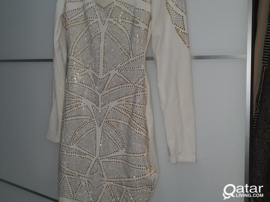 Beautiful Bebe Dress With Stones!!!