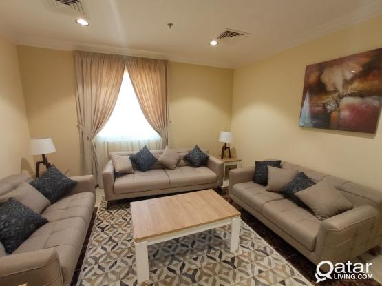 One Month Free!! Stunning 1BHK Fully Furnished Apartment in Doha jadeed