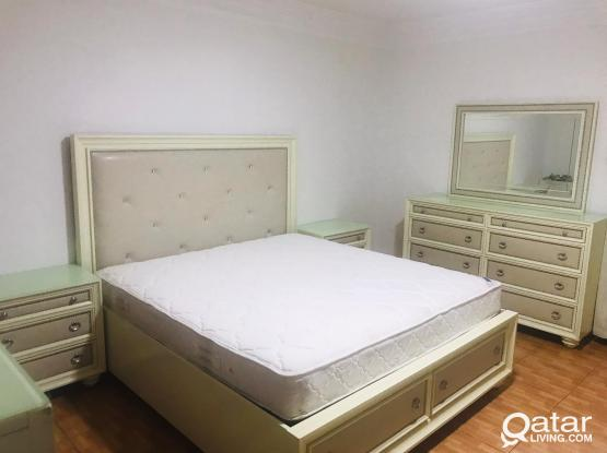 King size bedroom set without wardrobe