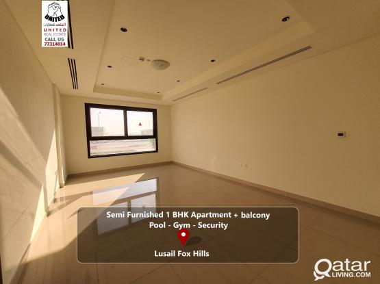 Brand New Semi Furnished Apartment in Lusail