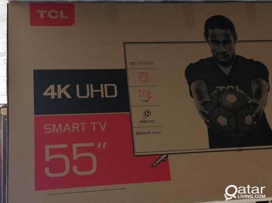 """TCL 55"""" Smart 4K LED TV Model :55P6US"""