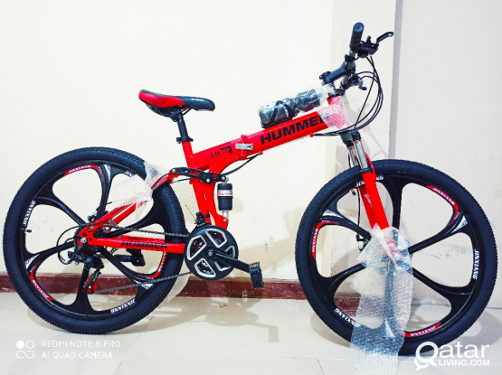 "HUMMER folding bike 26"""