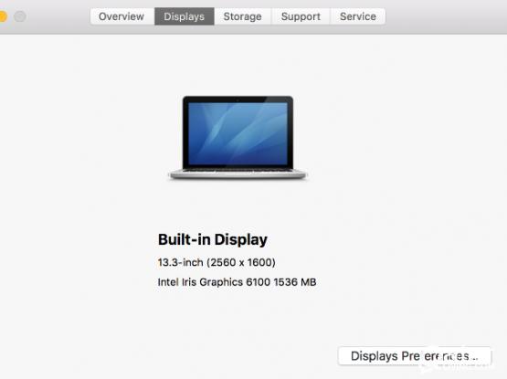 Apple macbook pro 2015 (core i7)