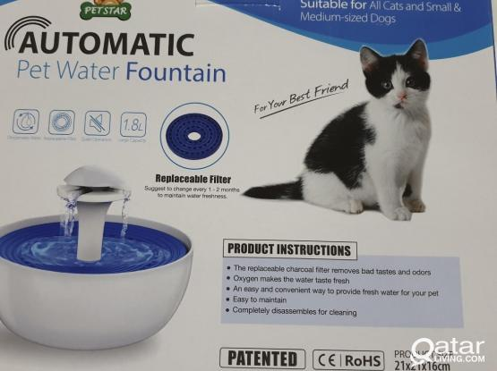 Water fountain for Cats and small dogs (pets)