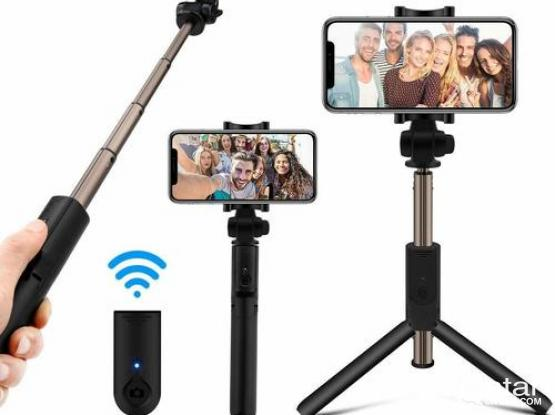 K07 Mobile Phone Bluetooth Extendable Selfie Stick with Tripod integrated and Wireless Shutter Remot