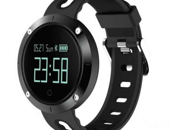 DM58 Smart Band Bluetooth Sport Watch Wristleband Bracelet 0.95 inch OLED Large Round Display – Blac