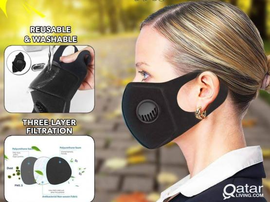 Filter Washable Reusable Form Mask
