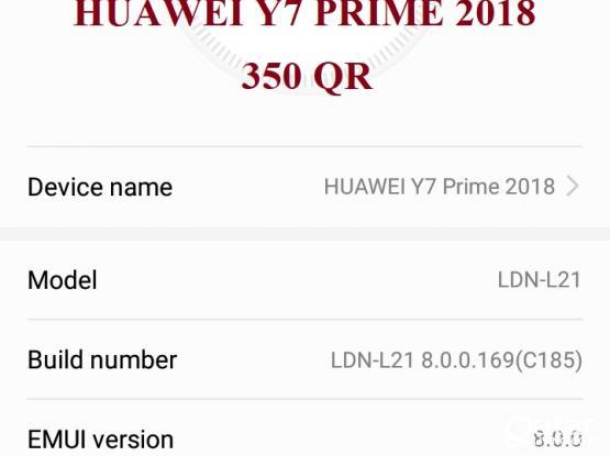 HUAWEI Y7 PRIME 2018 (QR 350)