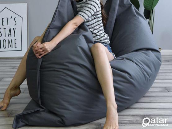 Big Bean Bag Puff BeanBag Sofa!