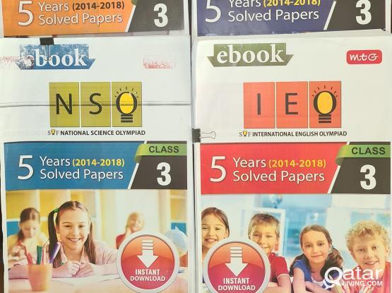 Grade III Olympiad (IEO/ IMO/ NSO/ IIO/ ABHO) book