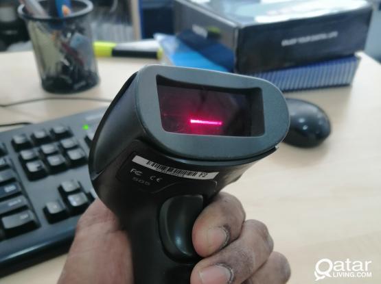 NETUM F2 Wireless Barcode Scanner 1D Laser Scanner