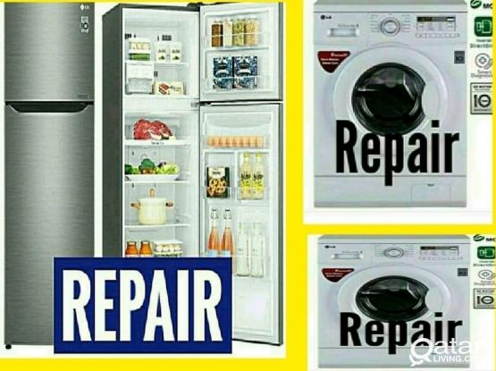 Fridge,,  washing machine repair.....