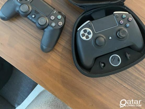 PS4 Pro + Razer Raiju Ultimate Controller + Turtle Beach Stealth 600 Headset