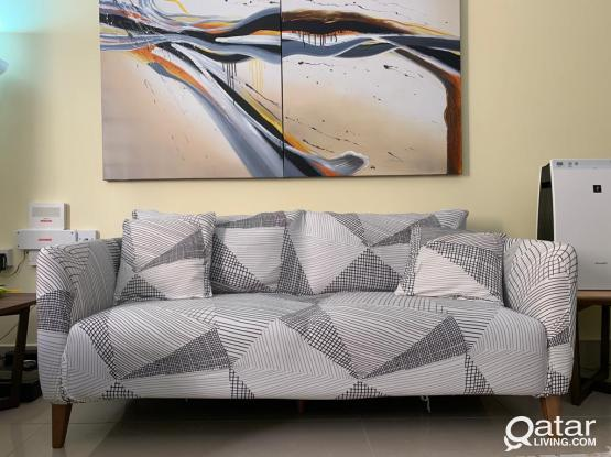 Sofa armchair covers and cushion covers