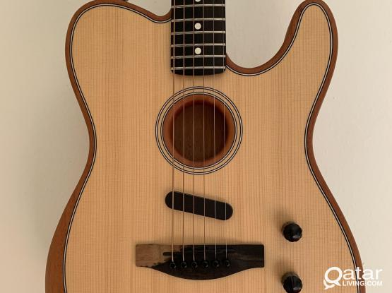 Fender Telecaster Acoustasonic (electric acoustic guitar)