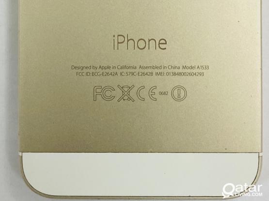 Iphone 5s 16 GB (Gold)