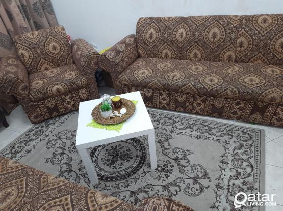 Sofa 7 sits