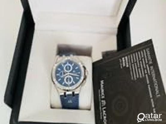 Maurice Lacroix Watch New In Box Not Used
