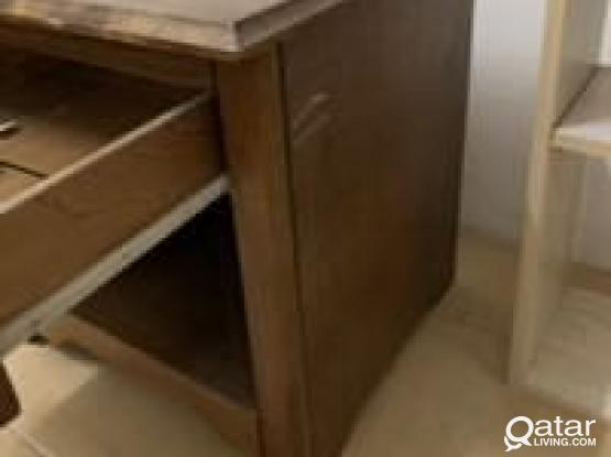 Study - Computer Table / Book Shelves/ Side Drawer