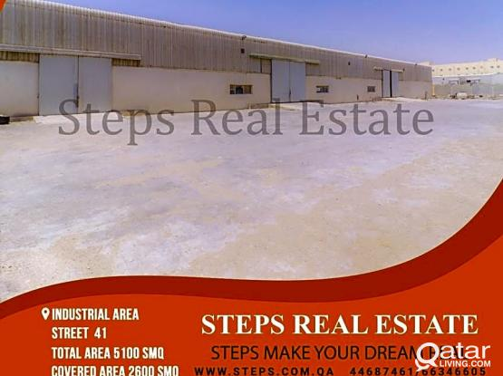 2600 SQM Store and 2500 Open Yard!