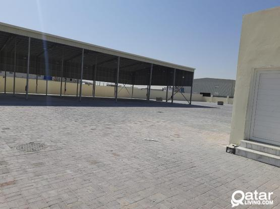 500 SQUARE METER OPEN STORE WITH 4000 S.Q.M LAND FOR RENT BIRKAT AL AWAMER