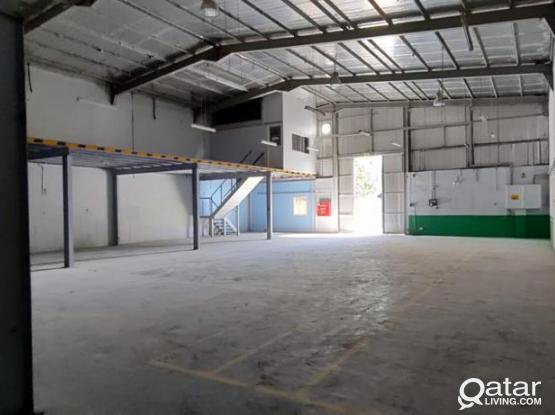 600 SQUARE METER STORE WITH 10 ROOMS FOR RENT IN INDUSTRIAL AREA