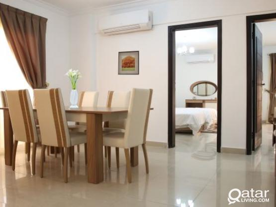 Lovely 2 Bedroom Furnished Apartment in Sea View in Umm Ghuwailina
