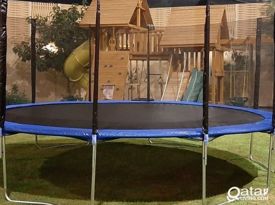 Jumping trampoline 10ft