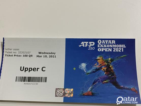 exxon tennis 2021 ticket