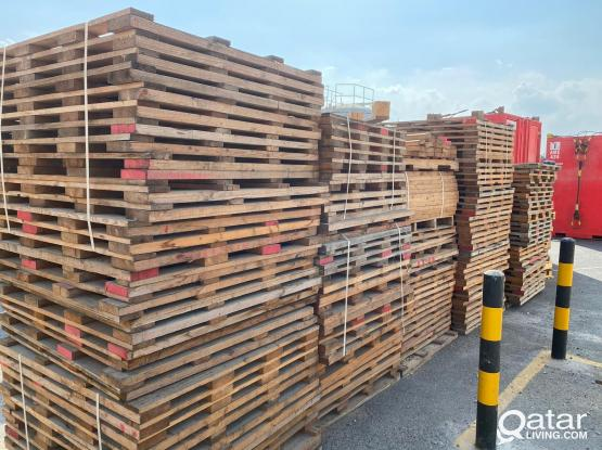 USED PLYWOOD & WOODEN PELLETS FOR SALE