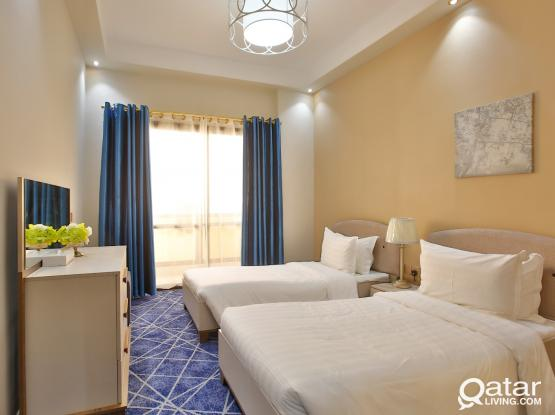 Splendid 2- Bedroom Fully Furnished Apartment
