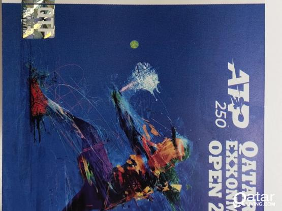 Exxonmobil Tennis Ticket for Today
