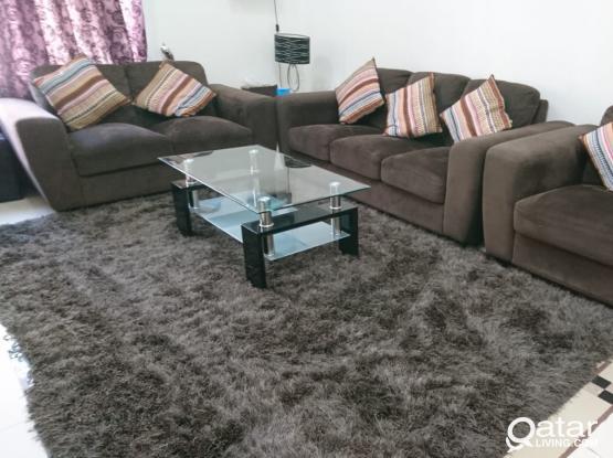 Sofa set 3+2+1 (Home Center)