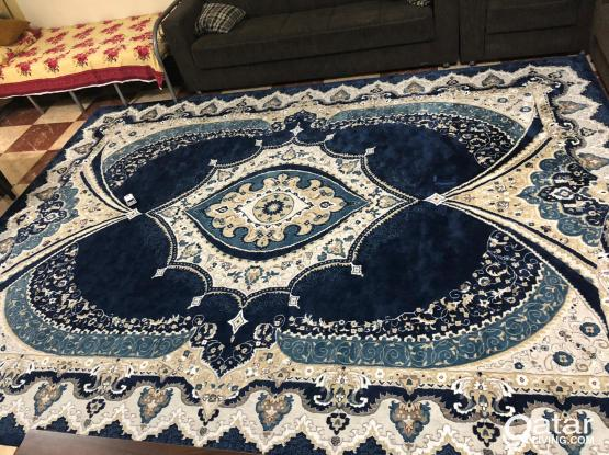 Two month used 4m x 3m Size Turkish Carpet for Sale