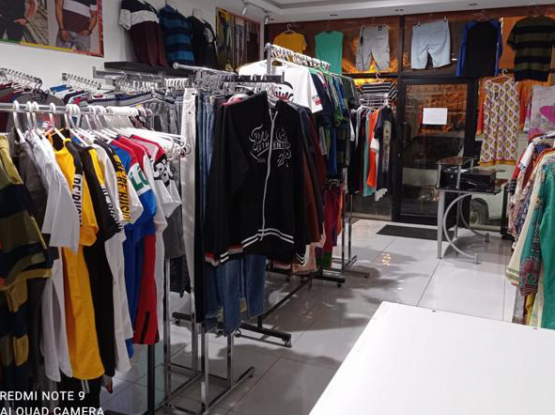 Garments shop for urgent sale