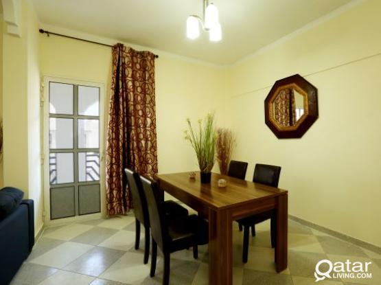 Sizeable 2-Bedroom Fully Furnished Apartment