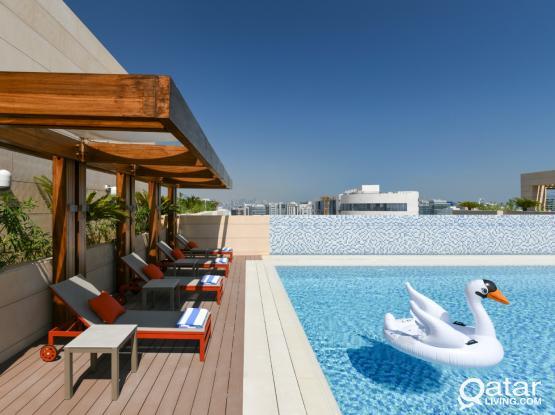 Luxury Fully furnished 1/2/3BR GYM/SPA/SWIMMINGPOOL CORNICHE