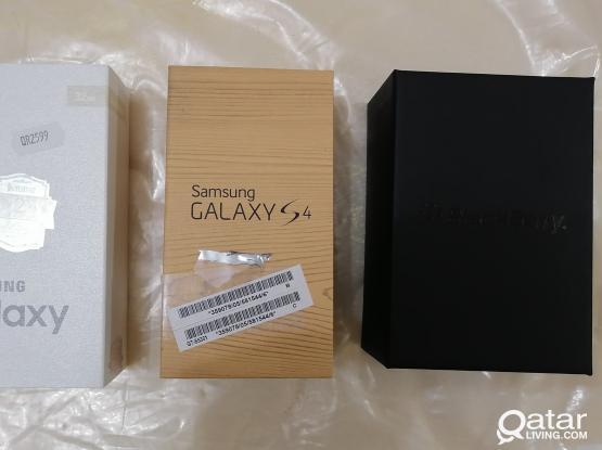 Samsung Galaxy S6 and Blackberry Bold 9790