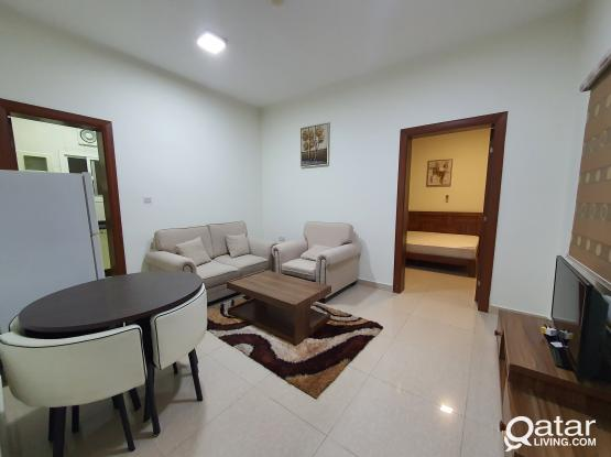 furnished 1 BHK in old rayyan compound